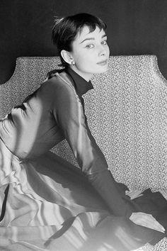 "vintagegal: "" Audrey Hepburn photographed by Cecil Beaton, 1954 (via) """