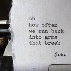 arms that break poem by ©judyelisa