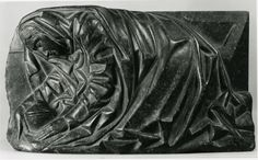 """""""Mary Magdalene Relief"""" Date: 15th–16th century Culture: Franco-Netherlandish Medium: Black Marble Dimensions: Overall: 7 1/4 x 13 1/2 x 3 1/4 in. (18.4 x 34.3 x 8.3 cm) Classification: Sculpture-Stone"""