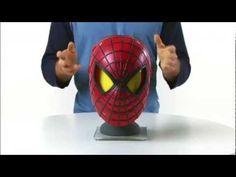 Mascara do Novo filme Homem Aranha ,Hero FX confira o video