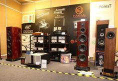 My primary speakers now, ASI Tango R, paired with Karan in this high end show