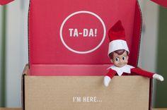 Announcing Elf's arrival.