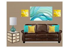362935_286x200 Blue And Yellow Living Room, Couch, Furniture, Home Decor, Settee, Sofa, Couches, Interior Design, Sofas