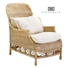 ROTAN LANDELIJKE RELAX Fauteuil - Berlano Interieur & Tuin Wicker, Dining Chairs, Elegant, Antiques, Terrace, Furniture, Home Decor, Rocking Chair, Color
