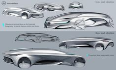 Mercedes Benz - Autonomous Luxury Sedan on Behance