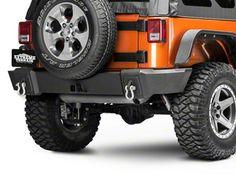 Barricade Trail Force HD Front Bumper w/ LED Lights (07-17 Wrangler