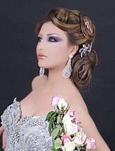maquillage libanais oriental pour un mariage coiffures mariage et photos. Black Bedroom Furniture Sets. Home Design Ideas