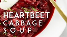 Hunky Heartbeet Cabbage Soup - gluten-free – Oh She Glows Vegetarian Recipes, Cooking Recipes, Healthy Recipes, Beet Recipes, Healthy Soups, Vegan Soups, Oh She Glows Cookbook, Cabbage Soup Recipes, Detox Soup