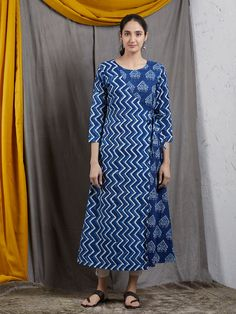 A Kurta to go with every occasion, be it printed embroidered or sequined. Shop from a wide Variety of most beautiful Kurtas in Pure Silk, Cotton & Linens & in vibrant colors. Printed Kurti Designs, Silk Kurti Designs, Simple Kurta Designs, Salwar Designs, Kurta Designs Women, Kurti Designs Party Wear, Blouse Designs, Kurta Patterns, Dress Patterns