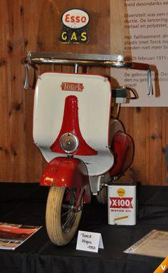 Tork Vespa scooter