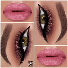 5 makes com glitter da @makeupbyevva - Maquiando
