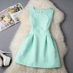 Vintage short classy dress