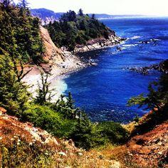 Coos Bay , Oregon Coast. I'm so ready to move there!
