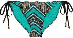 Vix Swimwear Xingu Ripple printed bikini briefs on shopstyle.co.uk