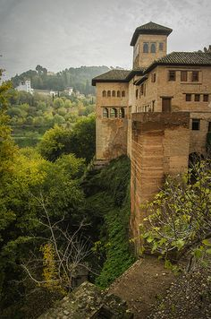 Alhambra. Granada Spain. Moorish Architecture. (1333–1353)