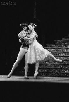 Rudolf Nureyev and Merle Park in Royal Ballet production of Romeo and Juliet, 1967