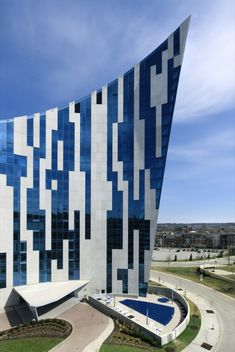 The Ascent at Roebling's Bridge, a residential building in Covington, Kentucky, in the greater Cincinnati area by Daniel Libeskind