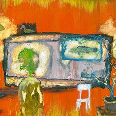 """""""In this painting the artist's soul has been corroded by assholism""""     John Lurie"""