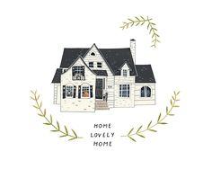 House Portraits — Rebekka Seale art & illustration