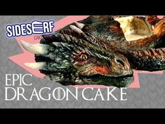 This week we have an EPIC Dragon Cake that uses some seriously satisfying techniques! With this tutorial, you can make your own dragon at home for your next . Camo Wedding Cakes, White Wedding Cakes, Texas Cake House, Cake Tv Show, Shoe Cakes, Purse Cakes, Realistic Dragon, Dragon Cakes, Cake Wrecks