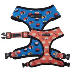 Comfy, cute, and functional — that's what the Oui Oui Frenchie Reversible Dog Harness offers you and your pet. Original Oui Oui Frenchie design Reversible for 2 different looksQuick-drySafety lockAdjustable strap for supportReflective safe. Sushi Style, Footer Design, Milk Shop, Dog Items, Oui Oui, Happy Animals, Collar And Leash, Cool Pets, Dog Harness
