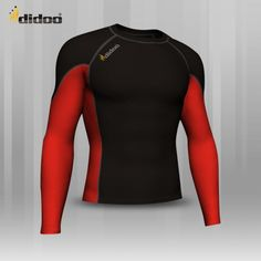 Ideal as a base layer or for training, Didoo Shirts are a tight fit compression garment. All Season Compression Baselayer which keeps you cool when its hot and keeps you hot when its cool. The light and tight compression fit is built to move with you for zero distractions, while the breathable, low profile design fits cleanly under a uniform. Flat lock stitching - eliminates thick seams, for greater comfort against the skin Profile Design, Keep Your Cool, Shirt Sleeves, Wetsuit, Cycling, Zero, Stitching, Tights, Training
