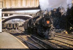 RailPictures.Net Photo: PRR 1453 Pennsylvania Railroad Steam 4-6-2 at Jersey City, New Jersey by John Dziobko www.godfatherrails.com