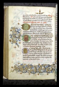 Egerton 1146   f. 239v / Book of Hours, Use of Worms, with elements of a Breviary, Germany, c. 1475 - c. 1485: