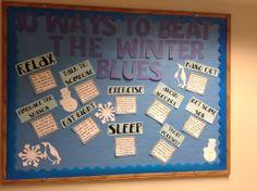Winter Blues board