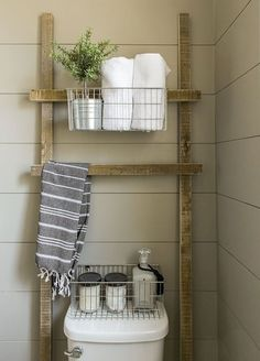 Rustic farmhouse bathroom decor ideas (12)