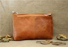 Leather Mini PurseLeather pouchLeather walletCoin by SoBag1989, $20.00