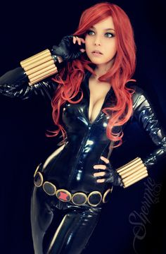 Black Widow Cosplay by Shermie Cosplay