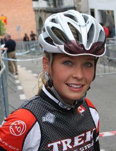 Cyclist Erica Allar | A bike