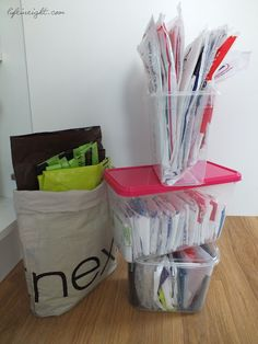 How I Organize and Store Plastic Bags