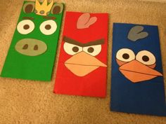 Angry Birds in the Classroom = ideas and activities this teacher used