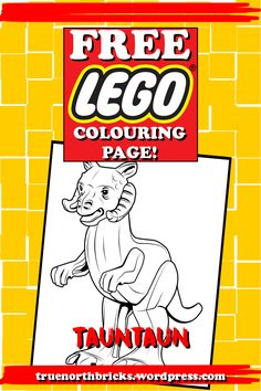 Click here to download this week's LEGO colouring page!