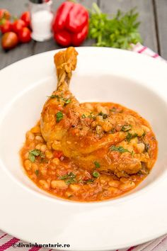 Romanian Recipes, Romanian Food, Crockpot Recipes, Curry, Chicken, Ethnic Recipes, Recipes, Pies, Curries