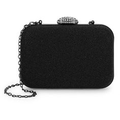 983a682ae32c La Regale Mesh Push-Lock Clutch (190 DKK) ❤ liked on Polyvore featuring  bags