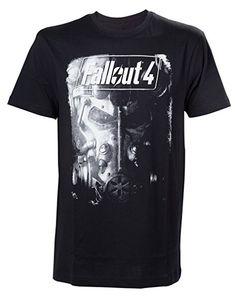 Fallout 4 T-Shirt -L- Brotherhood of Steel, schwar