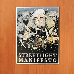 "Streetlight Manifesto ""Ship of Fools"" Tour Poster, $5, http://theriscstore.com"