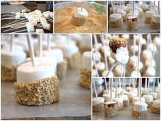 Smores on a sticks @cleverlyinspired