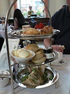 High Tea in The Pump Room at Bath, UK. Wonderful! - possible hen do idea