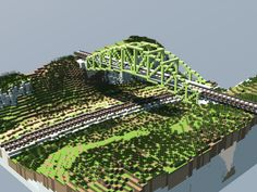 Realistic Scenery Vol. Minecraft Bridges, Minecraft City Buildings, Minecraft Banners, Minecraft Castle, Minecraft Plans, Minecraft Architecture, Minecraft Blueprints, Minecraft Designs, Minecraft Creations