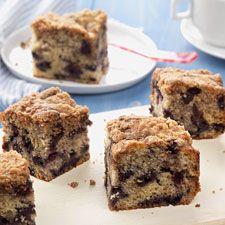 Blueberry Buckle Coffeecake: King Arthur Flour