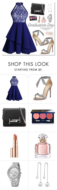 """Congrats, Grad: Graduation Day Style"" by oshint ❤ liked on Polyvore featuring Alexandre Birman, Tod's, Vapour Organic Beauty, Estée Lauder, Guerlain and Kate Spade"