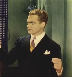 "James Cagney en ""Contra el Imperio del Crimen"" (G Men), 1935"