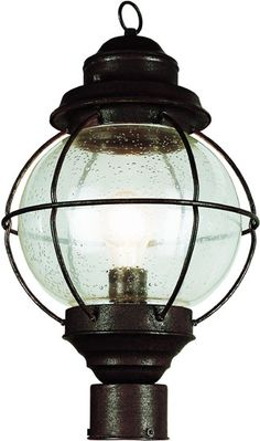 19 Outdoor Post Lighting Fixture By Trans Globe Nautical 69905 131 10 Black Wall