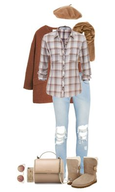 """""""Senza titolo #4269"""" by lisadcruciani ❤ liked on Polyvore featuring MANGO, Faliero Sarti, maurices, Casetify, UGG Australia, Givenchy and Quay"""