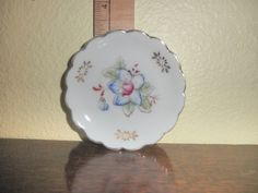 Hand painted plate by TeresaScholleDesigns on Etsy Perfect for dressing table to hold rings, pins...very sweet.
