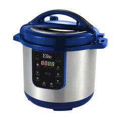 Elite Platinum 8Qt. Electric Pressure Cooker [EPC-813BL]